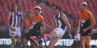 AFL Rd 2 - GWS v North Melbourne
