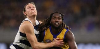 AFL Rd 9 - West Coast v Geelong