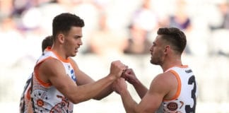 AFL Rd 14 -  Fremantle v GWS