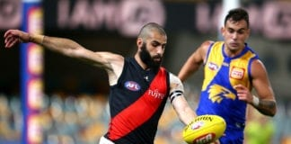AFL Rd 15 - West Coast v Essendon