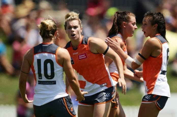 AFL Women's Rd 3 - GWS v Fremantle