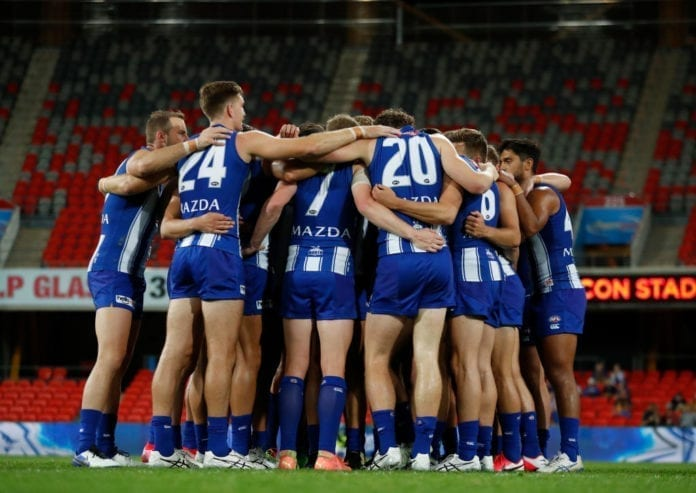 AFL Rd 18 - North Melbourne v West Coast